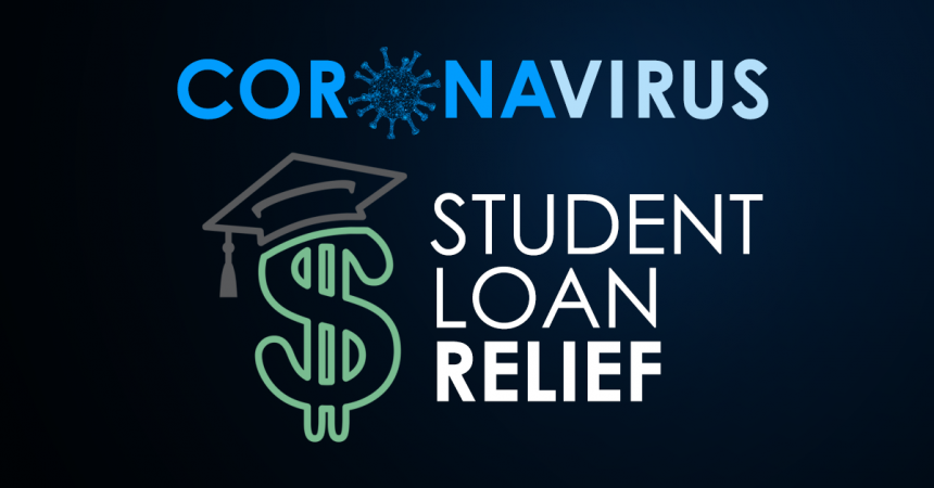 Student Loan Relief Graphic