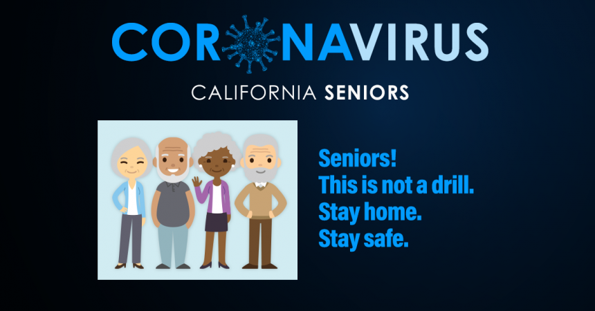 California Seniors Graphic