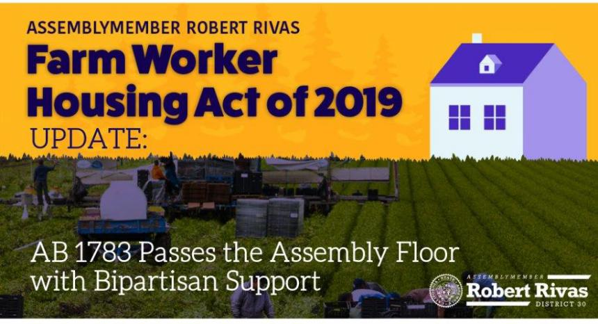 Farmworker Housing Building Act of 2019 Graphic