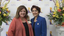 Assemblymember Caballero and AD 30 Woman of the Year, Lori Koster