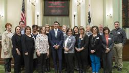 Assemblymember Robert Rivas and Morgan Hill Leadership Group